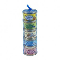 Set of 5 fish spreads (65 gr)