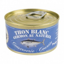 Thon germon au naturel 200 g