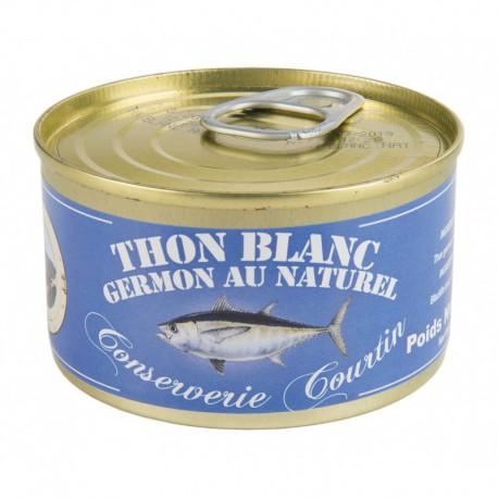 Thon germon au naturel 200 g