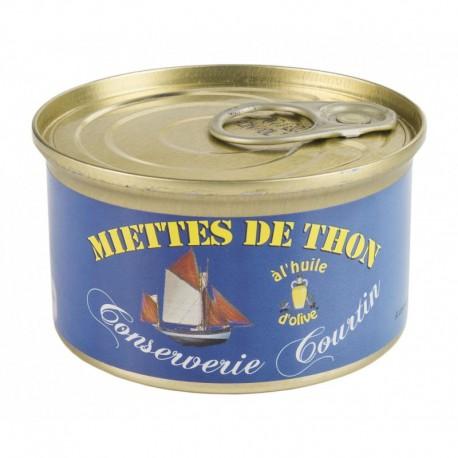 Miettes de thon à l'huile d'olive