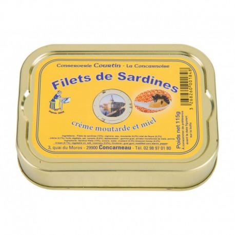 Sardines fillets in creamy mustard & honey