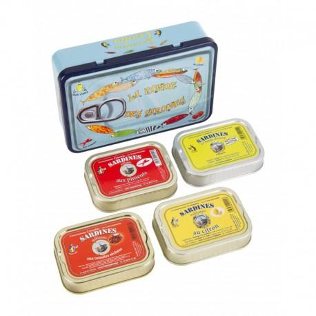 """Coffret """"La ronde des sardines"""""""