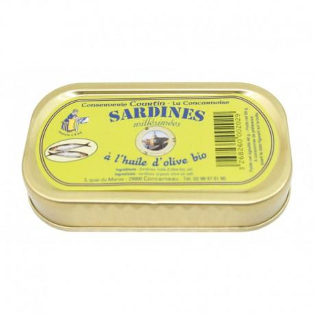 Sardines à l'huile d'olive 69g