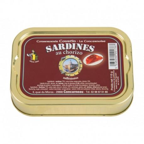 Sardines au chorizo