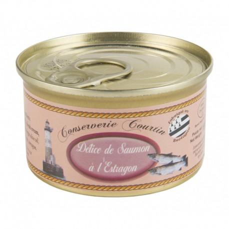 Délice de saumon à l'estragon 130 g
