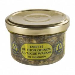 Émiétté de thon à l'algue wakamé