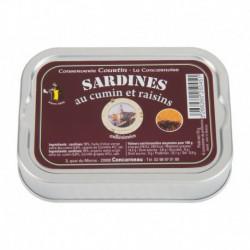 Sardines aux raisins et cumin