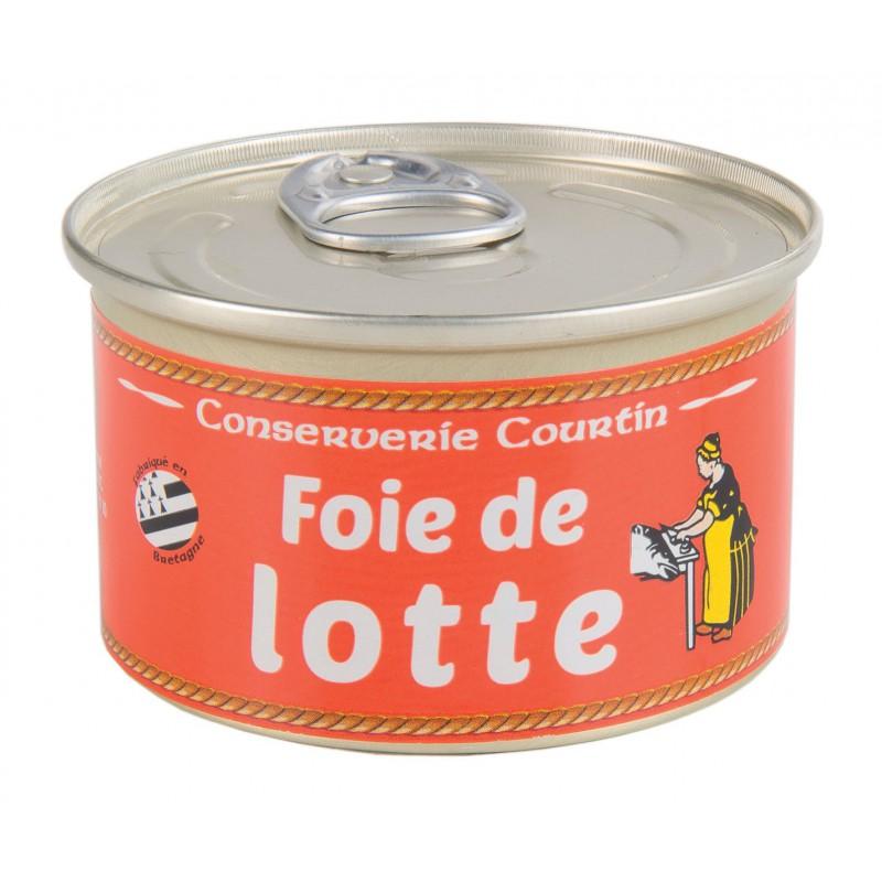 Foie de lotte conserverie courtin - Cuisiner le foie de lotte ...