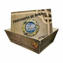Grande bourriche provisions de bord
