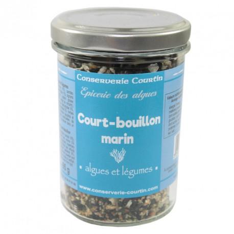 Court bouillon algues et légumes