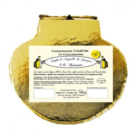 Lot de 6 coquilles Saint-Jacques fraîches 145 g
