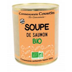 Soupe de saumon bio 800G
