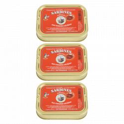 Lot 3 sardines aux tomates séchées