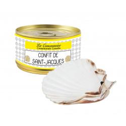 Confit de Saint-Jacques 210 g + 2 coquilles vides