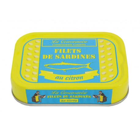 Filets de sardines au citron