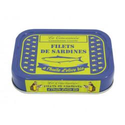 Filets de sardines à l'huile d'olive bio