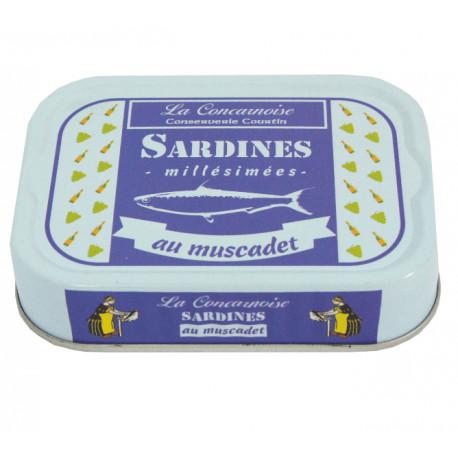 SARDINES AU MUSCADET ET AROMATES 1/6